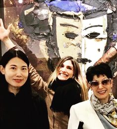 BOCCARA ART team: Wenxia Chen - BOCCARA ART Hong Kong, Laurence Huertas-Plantavin - BOCCARA ART Monaco, Gina Ardani - BOCCARA ART New York.