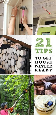 21 Tips to Make Your Home Winter Ready Wow, I didn't realize my house needed to be ready for win Dollar Tree Storage Bins, Diy Pallet Sofa, Winter Hacks, Winter Tips, Design Your Dream House, House Design, Home Repairs, Winter House, Home Improvement Projects