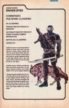 Snake Eyes (v2) G.I. Joe Action Figure - YoJoe Archive
