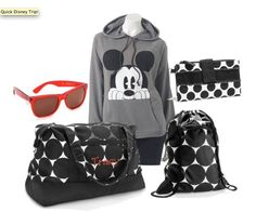 Thirty-One and a Disney weekend--perfect pair! Except I'll be using the City Weekender in the Big Dot!