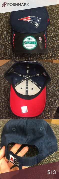 NFL New England Patriots Baseball Cap Brand-new with Adjustable Velcro strap. Please feel free to ask any questions and thank you for checking out my listings. New Era Accessories Hats