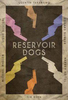Stuck in the Middle - Reservoir Dogs Poster by edwardjmoran on @DeviantArt