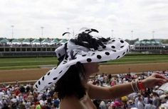 Hats at the Derby. May 7th 2012