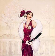 Art Deco Lady - 3. Обсуждение на LiveInternet - Российский Сервис Онлайн-Дневников