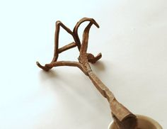 Antique Branding Iron. Hand forged vintage farm tool. Rustic Farmhouse Decor. Monogram A C.