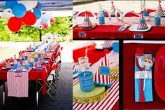 carnival theme centerpieces ideas | Carnival Birthday Party Ideas, Carnival Birthday Party Supplies | Best ...