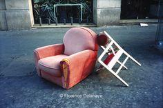 Abandon sur la voie publique - Florence Delahaye photographe