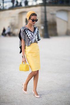 cinza e amarelo