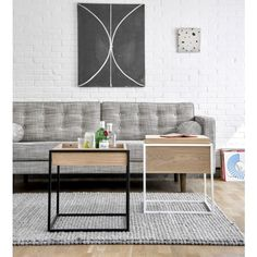 Monolit Side Table - Industry West + Ethnicraft - Collections