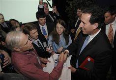 101 #prezpix #prezpixrs election 2012 candidate: Rick Santorum publication: abc news photographer: AP Photo publication date: 3/25/12
