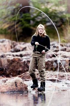 Fly Fishing - Girls who fly fish. Check out all of our female specific products at www.vailvalleyang...