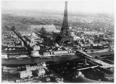 Aerial Photographs of Paris by Hot Air Balloon - Live_Travel    I wonder how history photos will look like a hundred years from now. .