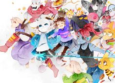Resultado de imagen para undertale anime