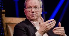 Eric Schmidt does not believe the internet will splinter, but does see us heading toward a 'bifurcated internet, with China leading one part. One Job, Job S, Google S, Human Resources, Lessons Learned, Einstein, At Least, Interview