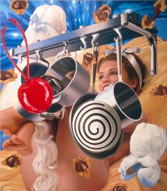 Pot Rack oil on canvas 108 x 95 inches x cm © Jeff Koons 2000 Neo Pop, Jeff Koons Art, Pop Art, Pot Rack, Balloon Animals, Lowbrow Art, Arte Popular, Art Icon, High Art