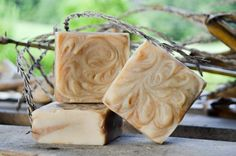 Corn Husk Goat Milk Soap. Available August 28th $6