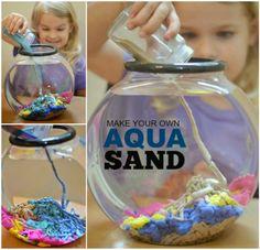 DIY Aqua Sand