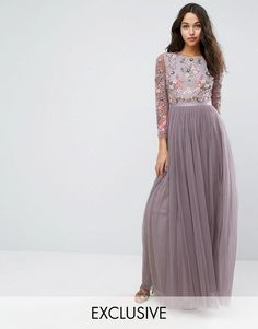 Needle & Thread Ditsy Scatter Tulle Gown at Asos #affiliatelink