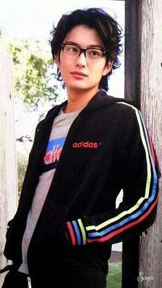 Okada Masaki Okada Masaki, Japanese Love, Types Of Guys, Japanese Culture, Best Actor, Hot Boys, Adidas Jacket, Handsome, Mens Fashion
