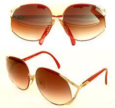 322bedfbf127f NEW VINTAGE Christian Dior 2250 Massive Frames Women Sunglasses Made  Austria 80s