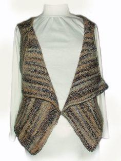 Super Easy Crochet Vest instant Digital Pattern PDF download