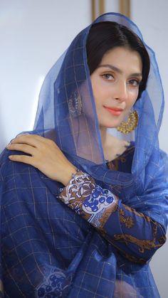 Pakistani Models, Pakistani Actress, Pakistani Outfits, Beautiful Hijab, Beautiful Girl Image, Beautiful Pictures, Ayeza Khan Wedding, Wedding Dresses For Girls, Pakistani Dress Design