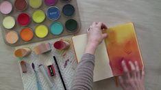 Dry Color Wash Technique for Art Journals.mov