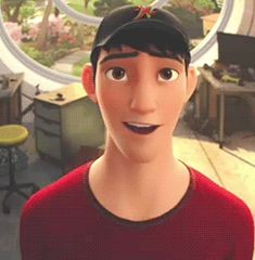 """tadashi big hero 6 - """"I am satisfied with my care"""" in that moment I wanted to BAWL..."""