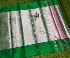 Cotton Sarees Online, Handloom Saree, Card Wallet, Pure Products, Dark, Green, Color, Colour, Colors