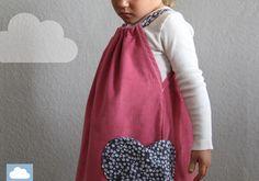 """Kleider - Mädchenkleid """"Madita"""" Cord - ein Designerstück von Kleine-Woelkchen bei DaWanda"""