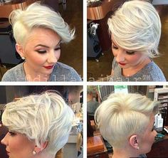 32.Short Hair Cut Style