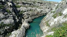 Wied l-Ghasri, Gozo, Maltese Islands