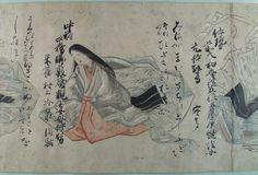 三十六歌仙絵巻(さんじゅうろっかせんえまき)| 国文学研究資料館