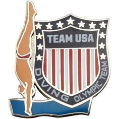 2012 Team USA Diving Olympic Shield Pin