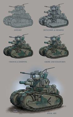 ArtStation - Up_Armoured, Bryn Williams