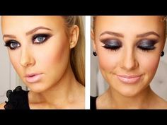 smokey eye make up tutorial
