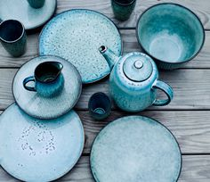 broste copenhagen nordic tableware. Now, don't get me wrong, I love my Fiestaware, but this is very pretty.