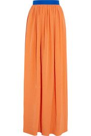 Roksanda Riven silk-blend maxi skirt