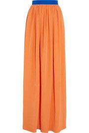 RoksandaRiven silk-blend maxi skirt
