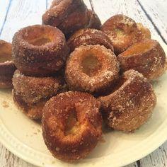 Cinnamon Sugar Popovers  #breakfast #brunch