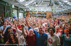 Wow what a reception in Liverpool! Thanks Steve and Dave for putting this on and Michael Cusick for this fun photo! (Credit: http://www.thelivelens.com/)