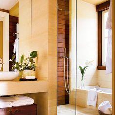Con ducha y bañera en poco más de 7 m2