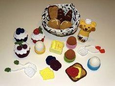 Frühstück in der Kinderküche - PDF Häkelanleitung bei Makerist