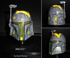 The Radioactive Fett Star Wars by Pop-custom  Anaïs Taï mïo Boba fett