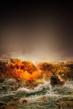 FREEIOS7 | storm-and-a-shipwreck | freeios7.com
