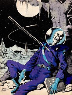 megatrip: Dave Gibbons (back cover of Comic Media magazine December 1973).jpg