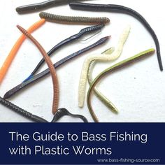 The essential guide to bass fishing with soft plastic worms. The essential guide to bass fishing with soft plastic worms. Bass Fishing Tips, Fishing Guide, Best Fishing, Fishing Tackle, Fly Fishing, Fishing Knots, Fishing Basics, Fishing Stuff, Trout Fishing