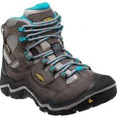 1011555 KEEN Women's Durand Mid WP Hiking Boots - Gargoyle www.bootbay.com