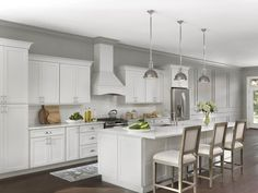 Homeowners create a timeless look in their kitchen, the most important room in their house.