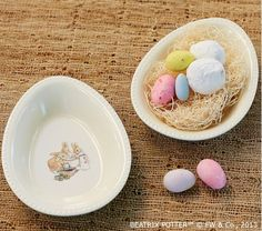 Peter Rabbit Green Egg Shaped Bowl-Home and Garden Design Ideas
